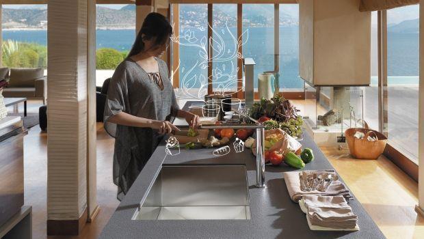 Cucine green con gli elettrodomestici ad impatto zero