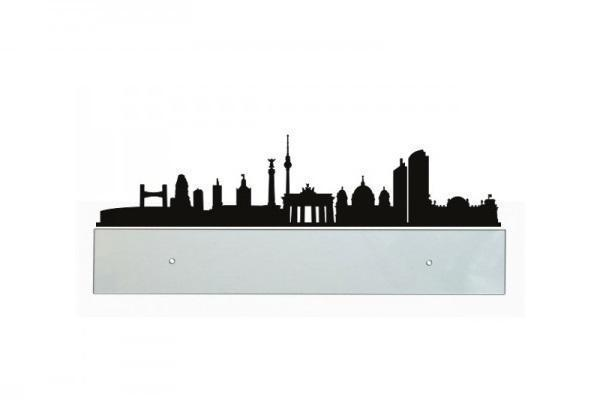 Fascia paracolpi di Design trasparente con sticker Berlino