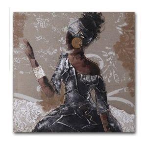 Tel decorativa a tema afro di Etnicoutlet.it