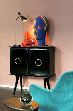 Elementi decorativi in stile afro chic di Studio Dimore Collection