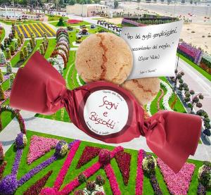 Tavola a Natale: biscotti con aforismi di Sogni e Biscotti