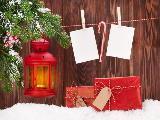 Segnaposti mangereggi per Natale, bastoncini di zucchero