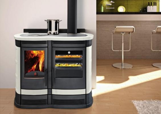 Cucina economica a legna - Forno a legna cucina moderna ...