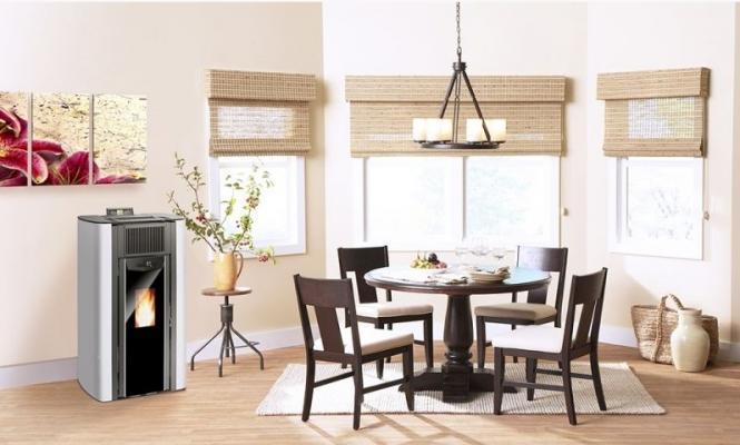 Stufe termostufe e caldaie a pellet riscaldare casa in - Come riscaldare casa in modo economico ...
