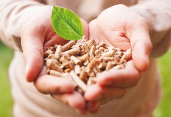 Combustibile naturale per termostufe a pellet di Enerkal