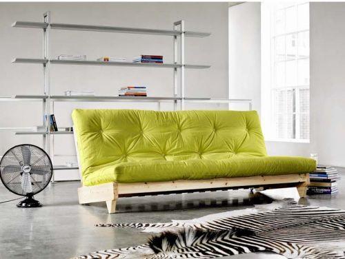 Divano letto Fresh futon colore verde Pantone 2017 su Reginahome.it