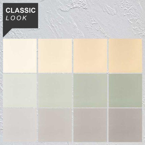 Rivestimenti decorativi, palette di colori stile Classic Look di Pancotti