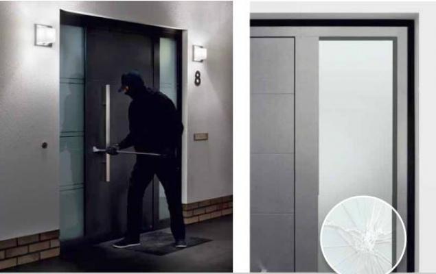 Porte di sicurezza: Hörmann, bloccaggio antiscasso