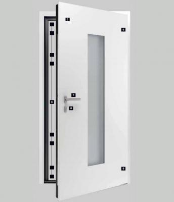 Porte di sicurezza: Hörmann, ThermoCarbon