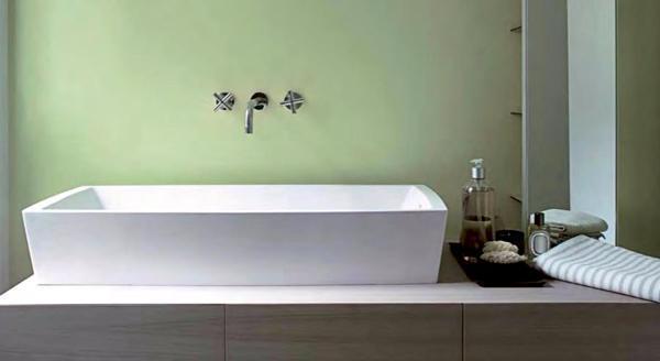 Rivestimenti resina in bagno, soluzione di GRUPPO GANI S.R.L.
