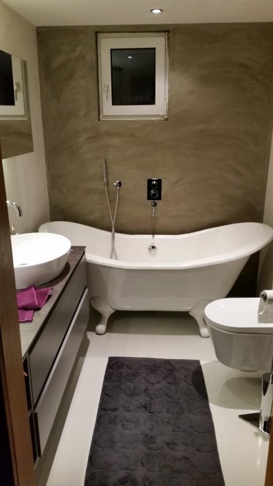 Resina pareti bagno costi galleria marcoaldi resine - Resina pareti bagno costi ...