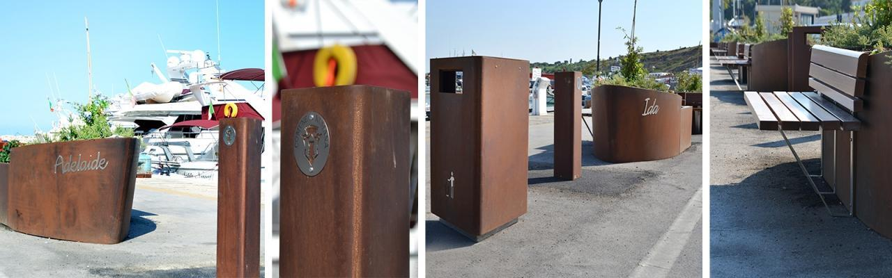 Corten come rivestimento by Cuadra