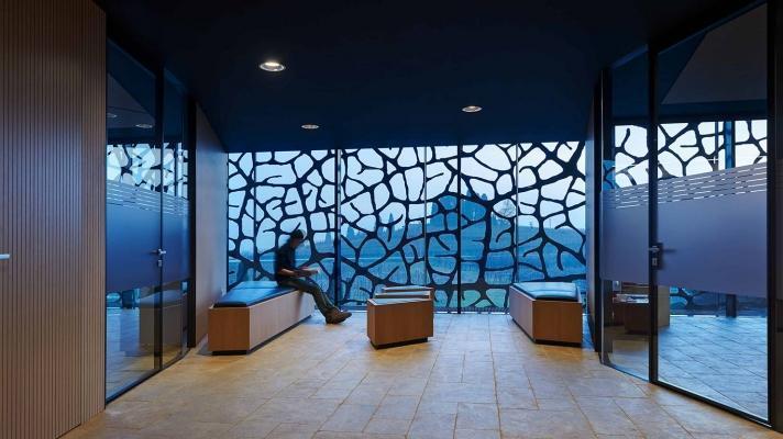 Acciaio cor-ten interior by Seccosistemi
