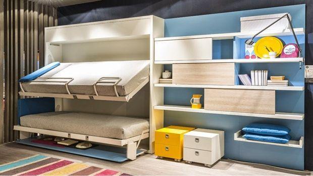 Armadio Letto A Scomparsa Ikea.Soluzioni Per Letti A Castello Salvaspazio