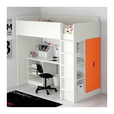 Soluzioni per letti a castello salvaspazio - Ikea letti a soppalco ...