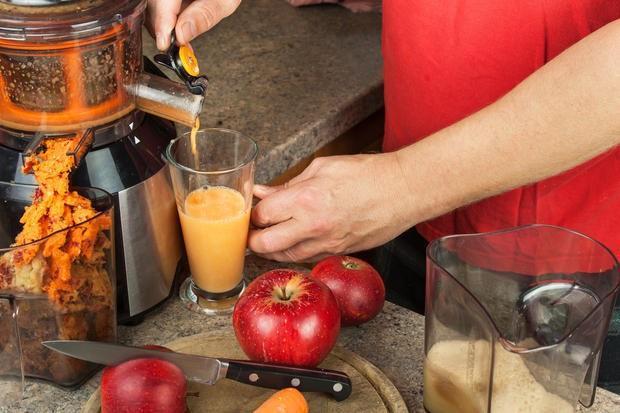 Centrifugati ed estratti di frutta e verdure, le differenze