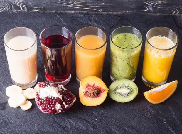 Succhi, centrifugati, frutta, verdura