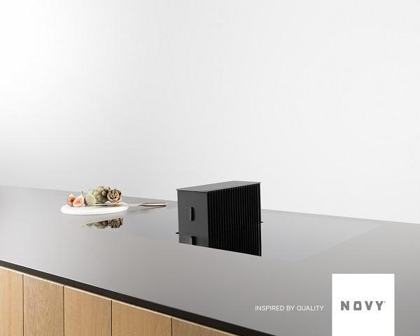 Cappe silenziose per cucine moderne: Novy, One