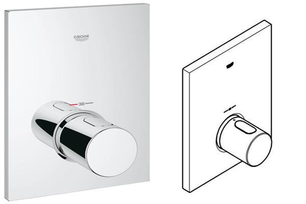 Miscelatore termostatico come funziona  Grohtherm F di GROHE