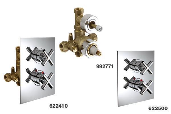 Miscelatore PALAZZANI, termostatico e per docce