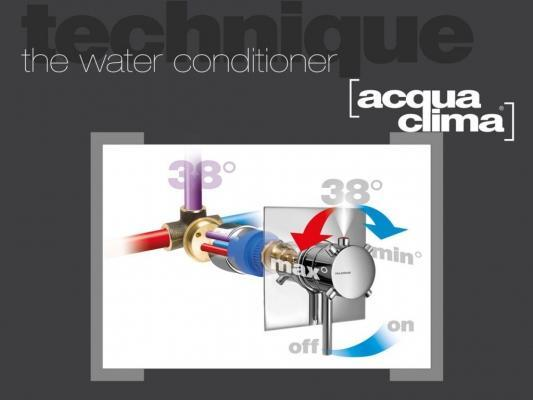 Miscelatori termostatici per docce PALAZZANI