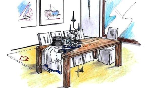 Tavolo allungabile in legno per una ergonomica convivialità