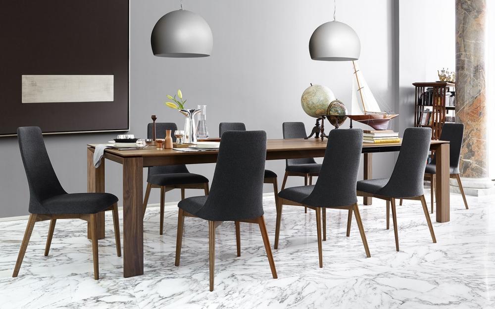 Zona pranzo con tavolo allungabile Calligaris Omnia XXL
