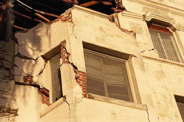 Danni causati dal terremoto