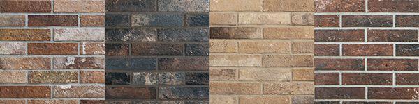 Piastrelle in gres, sfumature della serie Bristol di Ceramica Rondine.