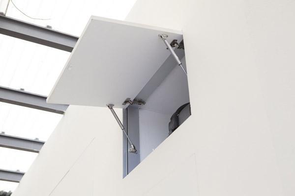 Soluzioni armadio raso parete by PannelloFilomuro