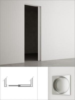 Ricavare spazio con l'armadio raso parete di PannelloFilomuro