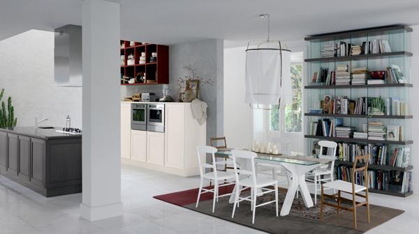 Composizione cucina ad isola Veneta Cucine