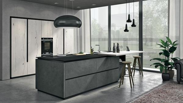 Cucine Moderne Ad Isola.Foto Cucina Ad Isola