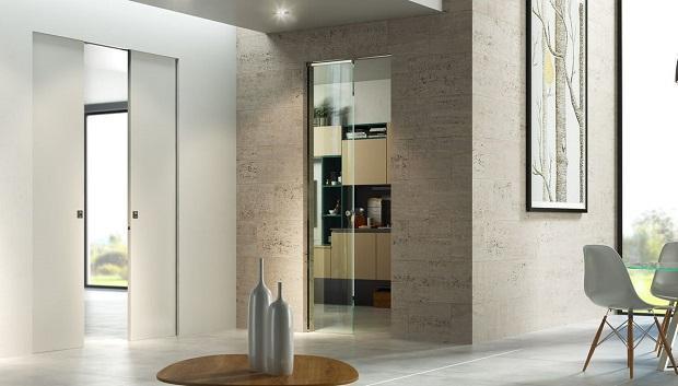 Porte scorrevoli interno muro di Scrigno
