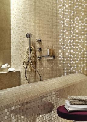 Rivestimenti ultrasottili per il bagno Stonevision by Marazzi