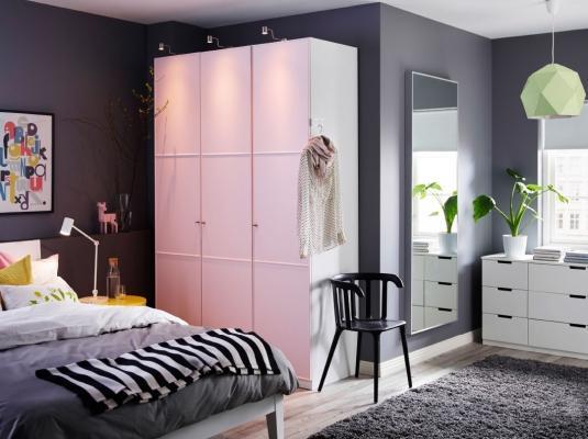 Arredare camera da letto Ikea bianca