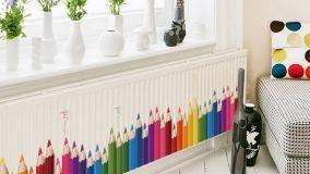 Mobili e oggetti per la casa ispirati alle matite colorate