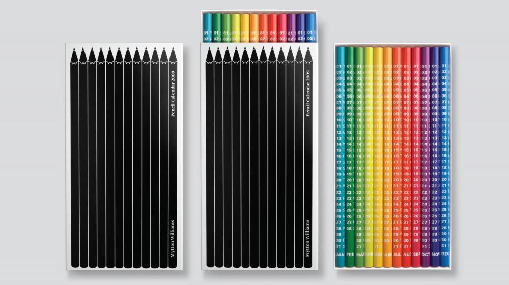 Pencil Calendar del designer Keith Hancox