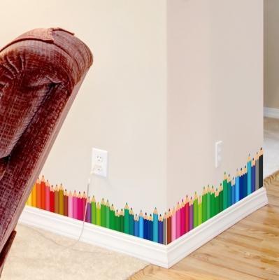 Decorare battiscopa con le matite colorate di Aliexpress.com