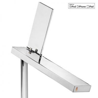 Lapada particolare D'E-Light di Flos, design di Philippe Stark