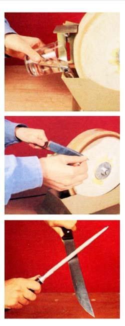 L'affilatura dei coltelli