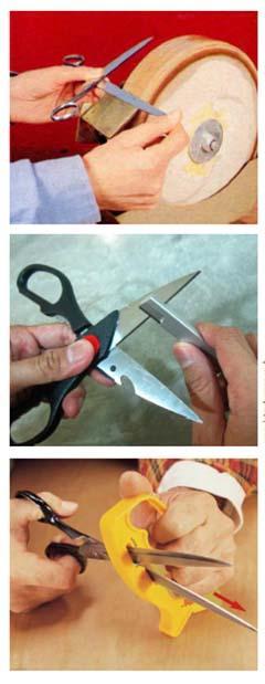 Affilare le forbici in fai da te
