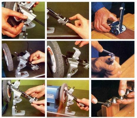 Affilare le punte da trapano a mano e con supporto