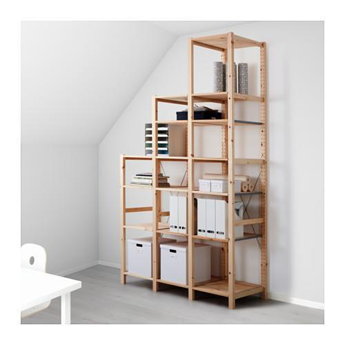 Soluzioni per ricavare un ripostiglio for Ikea scaffali ivar