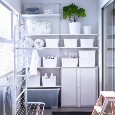Come ricavare un ripostiglio Ikea