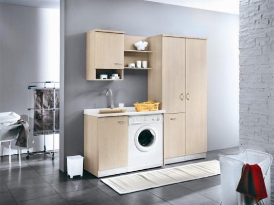 Antibagno a funzione lavanderia, Lavella Montegrappa