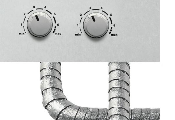 Protezione tubi e centralina di regolazione Temar srl