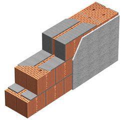 Muratura monostrato blocchi di Pororon