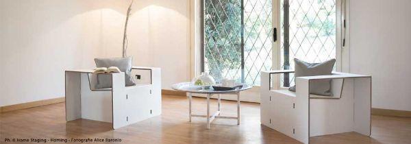 Allestimento mobili di cartone di Mobiliincartone.it