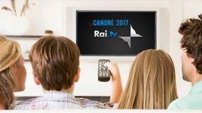 Canone Rai 2017, novità